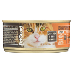 HGR0450783 - PetGuardCats Food - Chicken and Beef Dinner - Case of 24 - 5.5 oz.
