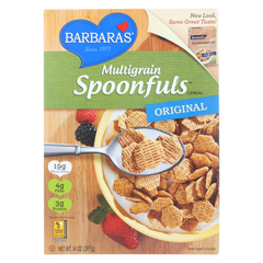 HGR0518431 - Barbara's BakerySpoonfuls Cereal - Multigrain - Case of 12 - 14 oz.