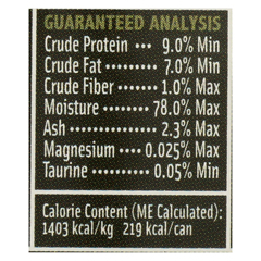 HGR0541698 - PetGuardCats Food - Organic Chicken and Vegetable - Case of 24 - 5.5 oz.