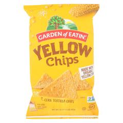 HGR0562868 - Garden of Eatin' - Yellow Corn Tortilla Chips - Tortilla Chips - Case of 12 - 16 oz.