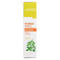HGR056904 - Jason Natural ProductsPowerSmile Enzyme Brightening Gel Natural Toothpaste - 4.2 oz.