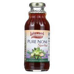 HGR060916 - LakewoodOrganic Noni Juice - Pure - Superfruit - 12.5 oz.