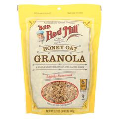HGR0604017 - Bob's Red MillHoney Oat Granola - 12 oz. - Case of 4