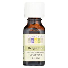 HGR062088 - Aura Cacia - Essential Oil - Bergamot Uplifting - .5 oz.