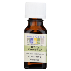 HGR0620120 - Aura Cacia - Essential Oil Camphor - 0.5 fl oz.