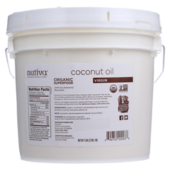 HGR0648816 - NutivaOrganic Coconut Oil - Extra Virgin - 1 gal