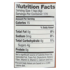 HGR0679993 - Wholesome SweetenersSugar - Natural Raw Cane - Turbinado - Fair Trade - 1.5 lb - case of 12