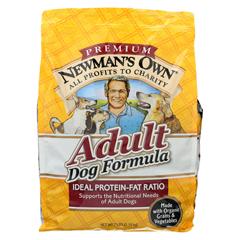 HGR0691733 - Newman's Own OrganicsAdult Dog Dry Formula - Chicken - Case of 4 - 7