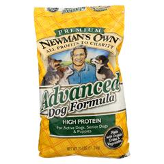 HGR0691790 - Newman's Own OrganicsDog Dry Formula - Advanced - 25