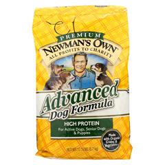 HGR0691816 - Newman's Own OrganicsAdvanced Dog Formula - Dry - 12.5