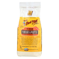HGR0707125 - Bob's Red Mill - 10 Grain Pancake and Waffle Mix - 26 oz. - Case of 4