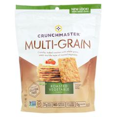 HGR0732941 - CrunchmasterMulti-Grain Crackers - Roasted Vegetable - Case of 12 - 4.5 oz.