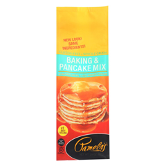 HGR0745521 - Pamela's ProductsBaking and Pancake Mix - Wheat and Gluten Free - Case of 6 - 24 oz.