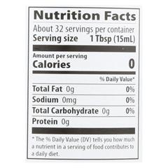 HGR0756403 - Eden Foods - 100% Organic Unfiltered Apple Cider Vinegar - Case of 12 - 16 fl oz.