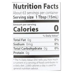 HGR0756502 - Eden Foods - 100% Organic Unfiltered Apple Cider Vinegar - Case of 12 - 32 fl oz.