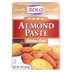 HGR0803809 - SoloAlmond Paste - 8 oz. - case of 12