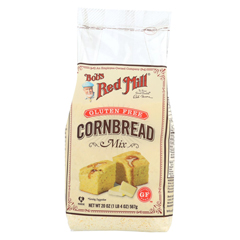 HGR0832196 - Bob's Red MillGluten Free Cornbread Mix - 20 oz. - Case of 4