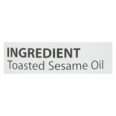 HGR0891309 - Eden Foods - Sesame Oil - Toasted - 5 oz. - case of 12