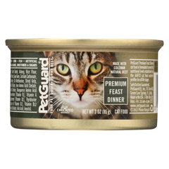 HGR0895037 - PetGuardCats Premium Feast Dinner - Case of 24 - 3 oz.