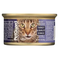 HGR0895052 - PetGuardCats Food - Lite Turkey and Barley Dinner - Case of 24 - 3 oz.