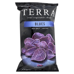 HGR0899856 - Terra Chips - Exotic Vegetable Chips - Blues - Case of 12 - 5 oz.