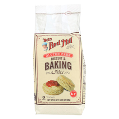 HGR0902783 - Bob's Red MillGluten Free Biscuit and Baking Mix - 24 oz. - Case of 4