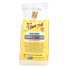 HGR0902858 - Bob's Red MillGluten Free Brown Rice Flour - 24 oz. - Case of 4