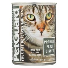 HGR0926584 - PetGuardCats Premium Feast Dinner - Case of 12 - 13.2 oz.