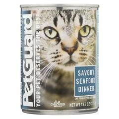 HGR0926592 - PetGuardCats Food - Savory Seafood Dinner - Case of 12 - 13.2 oz.