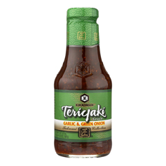 HGR0100016 - Kikkoman - Teriyaki Sauce - Garlic and Green Onion - Case of 6 - 20.5 oz..