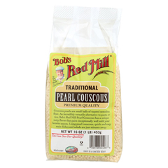 HGR01003961 - Bob's Red MillTraditional Pearl Couscous - 16 oz. - Case of 4