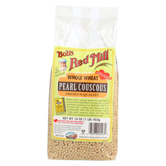 HGR01003987 - Bob's Red MillWhole Wheat Pearl Couscous - 16 oz. - Case of 4