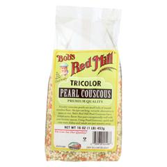 HGR01003995 - Bob's Red MillTri-Color Pearl Couscous - 16 oz. - Case of 4