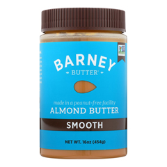 HGR0100503 - Barney Butter - Almond Butter - Smooth - Case of 6 - 16 oz..