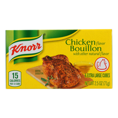 HGR0100594 - Knorr - Bouillon Cubes - Chicken - Extra Large - 2.5 oz.. - Case of 24