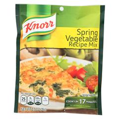 HGR0101279 - Knorr - Recipe Mixes - Spring Vegetable - Case of 12 - 0.9 oz..
