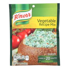 HGR0101303 - Knorr - Recipe Mixes - Vegetable - Case of 12 - 1.4 oz..