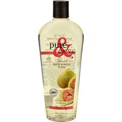 HGR0103499 - Pure and BasicNatural Bath and Body Wash Fresh Fig - 12 fl oz