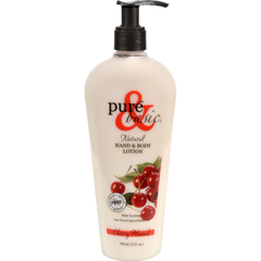 HGR0103523 - Pure and BasicNatural Bath And Body Lotion Cherry Almond - 12 fl oz