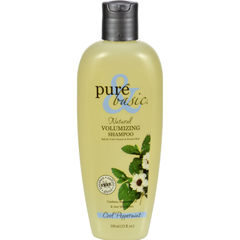 HGR0103556 - Pure and BasicNatural Volumizing Shampoo Cool Peppermint - 12 fl oz