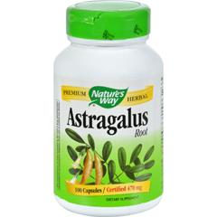 HGR0103705 - Nature's Way - Astragalus Root - 470 mg - 100 Capsules