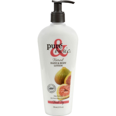 HGR0105114 - Pure and BasicHand and Body Lotion - Fresh Fig - 12 oz