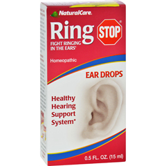 HGR0106518 - Natural Care - RingStop Eardrops - 0.5 fl oz