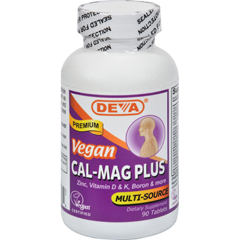 HGR0107144 - Deva Vegan VitaminsCal-Mag Plus - 90 Tablets