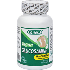 HGR0107334 - Deva Vegan VitaminsGlucosamine - 500 mg - 90 Tablets