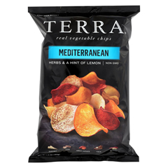 HGR01075472 - Terra Chips - Exotic Vegetable Chips - Mediterranean - Case of 12 - 6.8 oz.