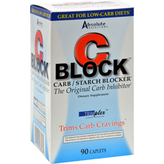 HGR0108910 - Absolute NutritionC Block Carb and Starch Blocker - 90 Caplets