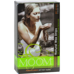 HGR0109710 - MoomNatural Wax Strips With Soothing Chamomile And Lavender - 20 Strips