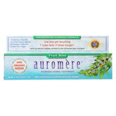 HGR01105162 - AuromereToothpaste - Fresh Mint - Case of 1 - 4.16 oz.