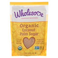 HGR01118017 - Wholesome SweetenersSugar - Organic - Coconut Palm - 16 oz. - case of 6